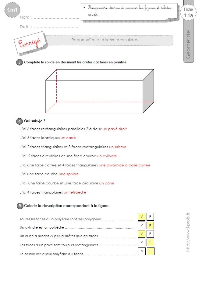 Très Exercice De GéOméTrie 6èMe A Imprimer VW94 | Montrealeast