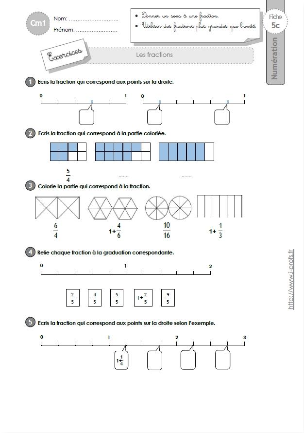 Cm1 Numeration Et Calcul Fiches I Profs