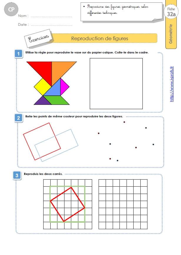 Cp Exercices Problemes De Reproduction De Figures En Geometrie Mesures Et Grandeurs 86 Fiches D Exercices Et D Evaluations En Geometrie Mesures