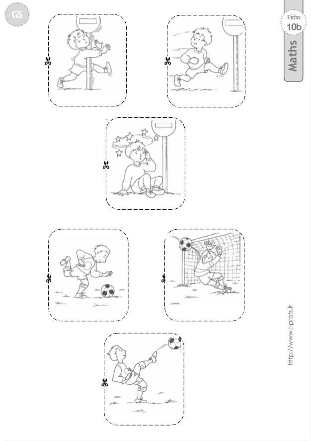 Gs Exercices Mathematiques Images Sequentielles En Maternelle Grande Section